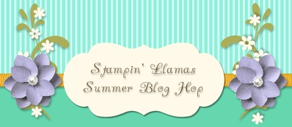 June Hop, Llamas, Summer, Stampin' Up!