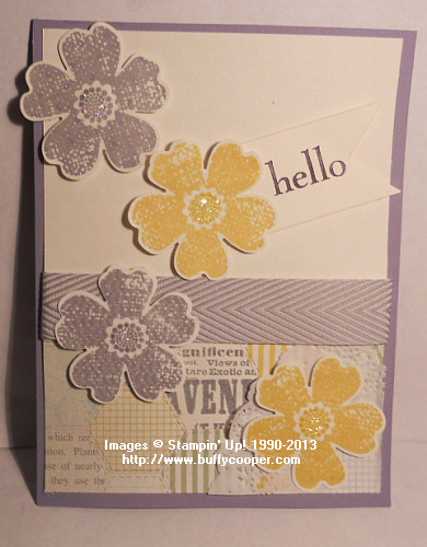 Pansy Punch, Happy Day, Afternoon Picnic, Stampin' Up!