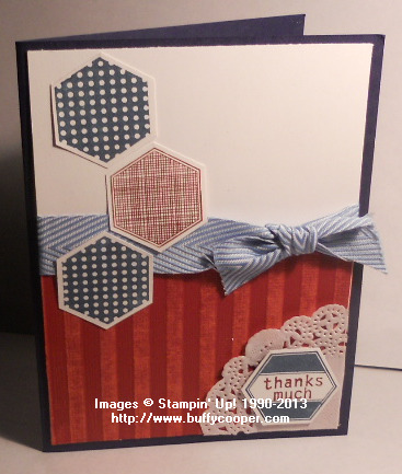 Six-Sided Sampler, Core'dinations, Stampin' Up!