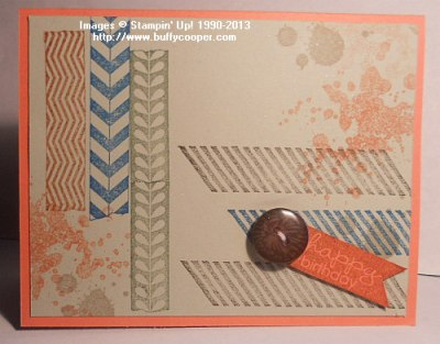 Tape It, Banner Greetings, Stampin' Up!