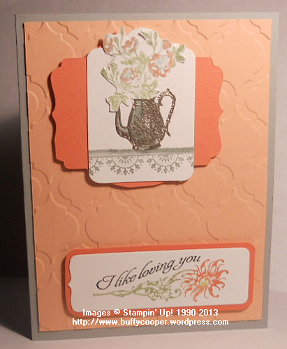 Tea Party, Lovely Romance, Stampin' Up!