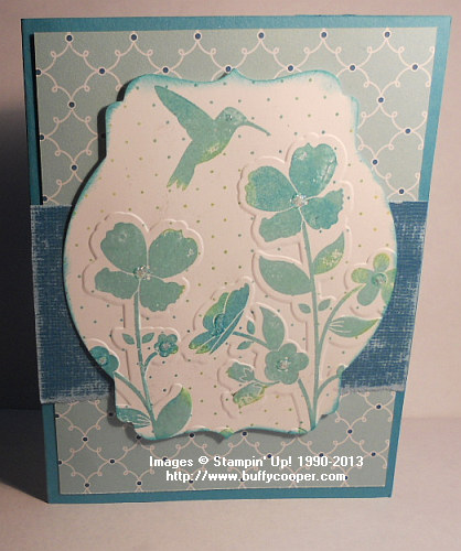 Wildflower Meadow, Big Shot, Stampin' up!