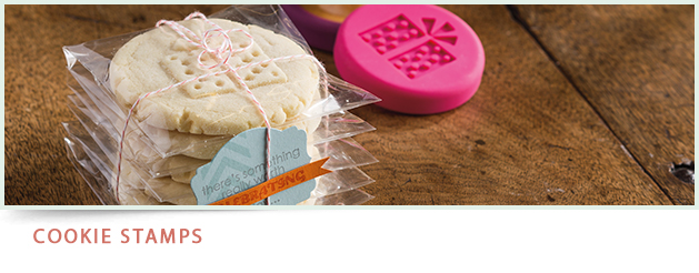 Cookie recipes, Stampin' Up! Sweet Pressed Cookie Stamps