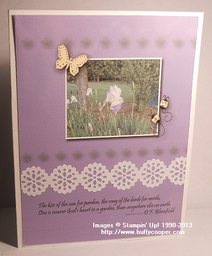 MDS, Stampin' Up!, hybrid card