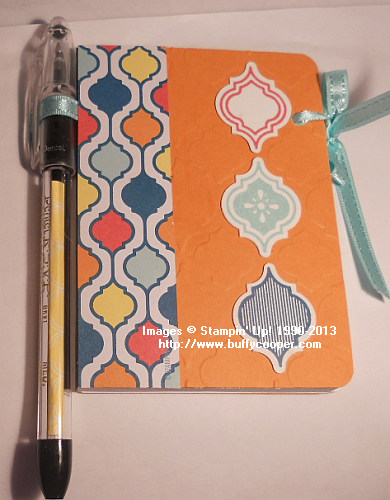 Swap from Kathe Deck, Stampin' Up!