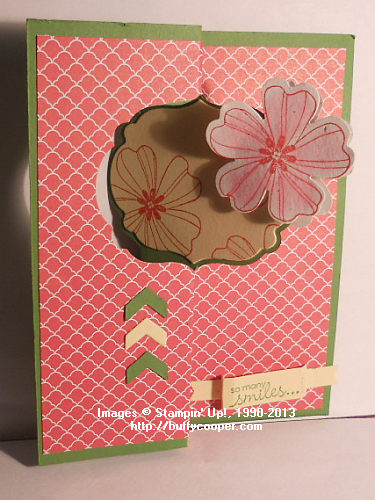 Label Card Thinlits, Petite Pairs, Flower Shop, Stampin' Up!