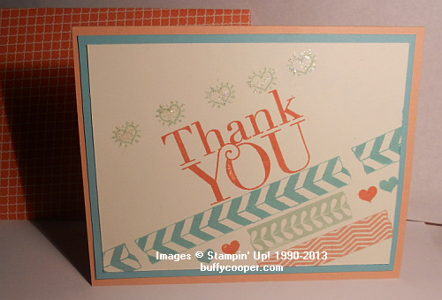 Photopolymer stamps, Another Thank You