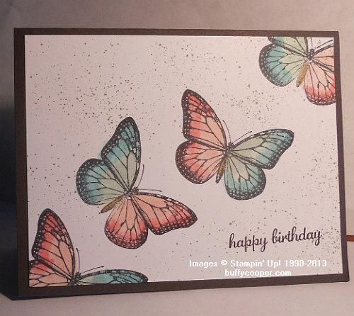 Stampin' Up!, Pam Irwin, Best of Butterflies