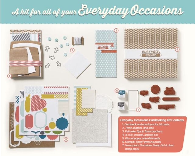 Stampin' Up!, Everyday Occasions