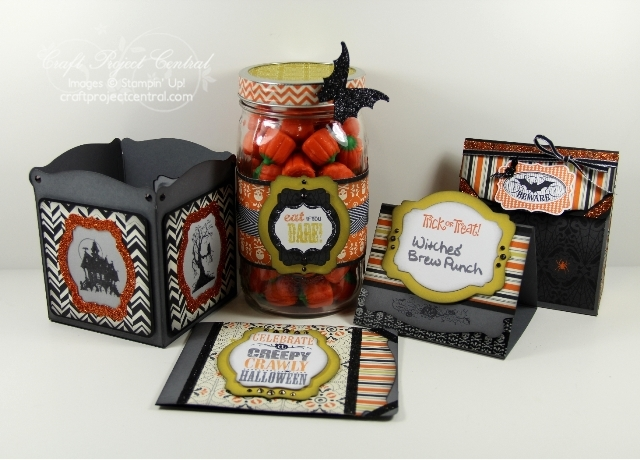Stampin' Up!, Craft Project Central, Halloween projects