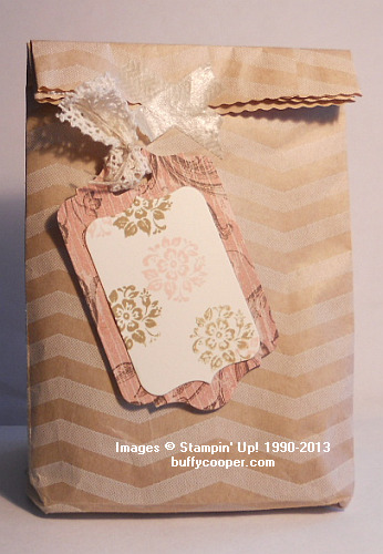 Tag a Bag kit, candy, gifts, Stampin' Up!