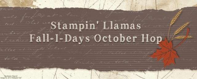 Llamas, blog hop, Holidays, Stampin' Up!