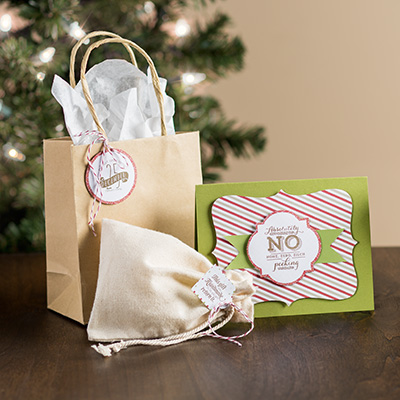 Pop & Place, Holiday Gift Tags, Stampin' Up!