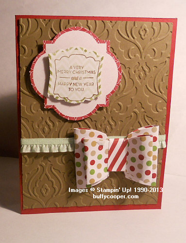 Season of Style, Pop & Place gift tags, Stampin' Up!