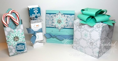 Craft Project Central, Stampin' Up!, Christmas Packaging Products