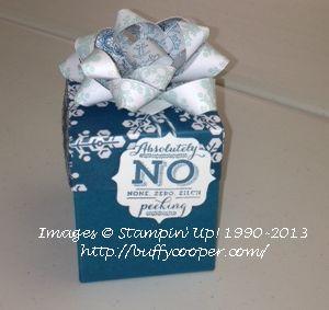 Big Shot envelope liner framelits, Stampin' Up!, Christmas gifts