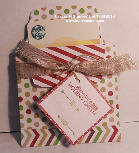 Season of Style, gift card holders, Christmas Tagables