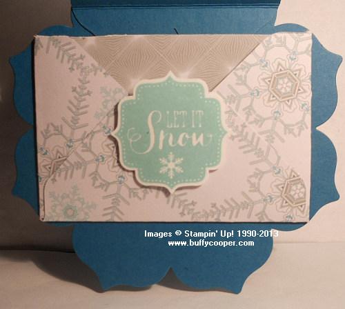 Stampin' Up!, Big Shot, Gift Card Holder