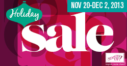 Holiday Sale, Stampin' Up!