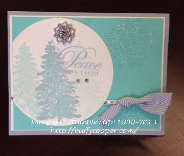 Carry over stamps, Stampin' Up!, Christmas cards