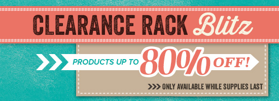 Clearance Rack, Stampin' Up!