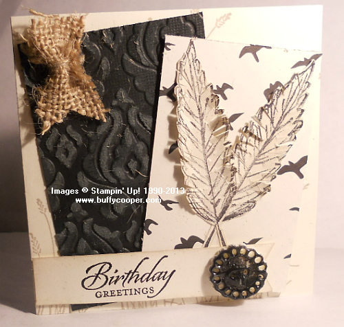 Craft Project Central, Stampin' Up!, Gently Falling, Wetlands, CPC30