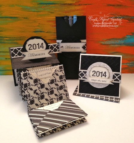 Craft Project Central, Stampin' Up!, New Year gifts