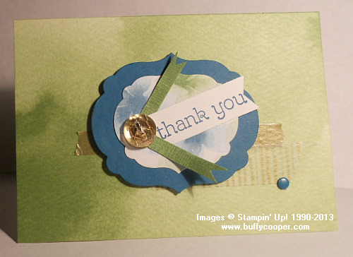 CPC31, Stampin' Up!, Craft Project Central