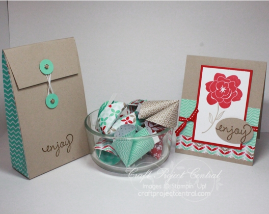 Enjoy Some Good Fortune, Craft Project Central, Stampin' Up!