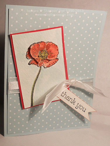 Happy Watercolor, Occasions catalog, Stampin' Up!