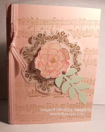 Daydream Medallions, Secret Garden, Stampin' Up!