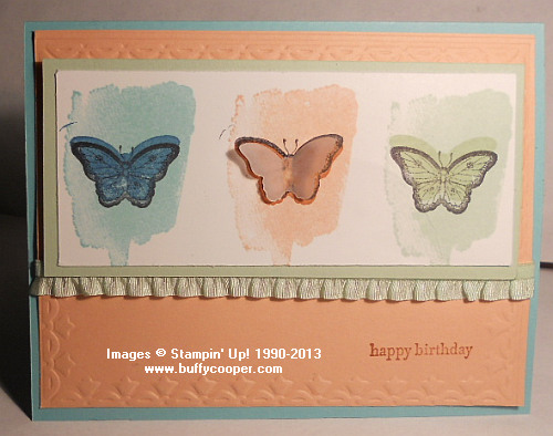 Papillon Potpourri, Stampin' Up!, Happy Watercolor