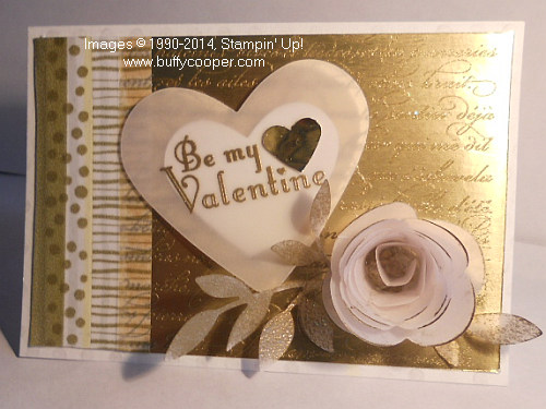Valentine, Stampin' Up!, Occasions Catalog