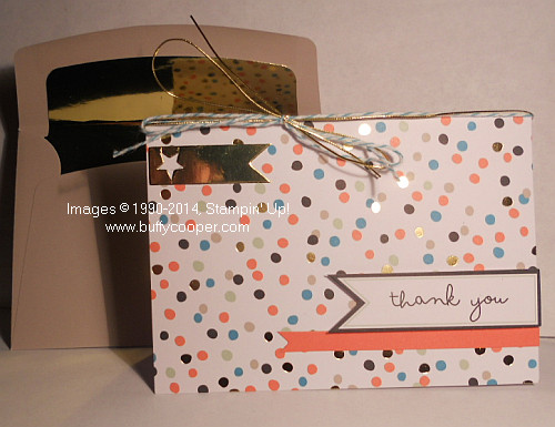 Sale-a-bration, Good as Gold, Stampin' Up!