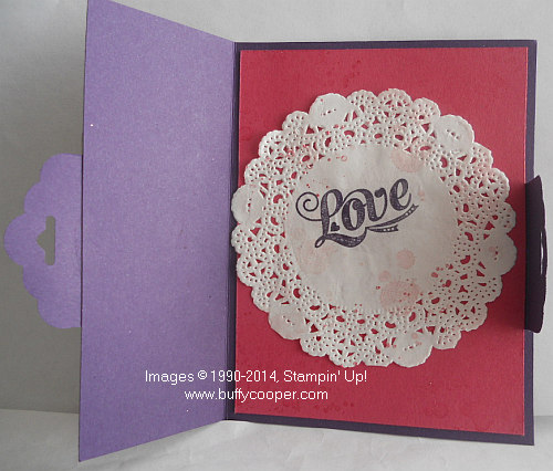 Valentine's Day, Occasions catalog, Stampin' Up!