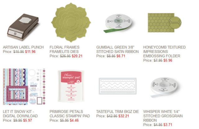 Stampin' Up!, Weekly Deals, Online Shopping