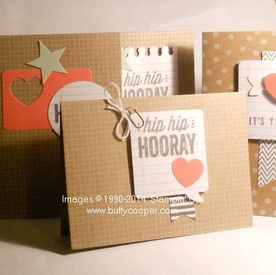Hip Hip Hooray, Stampin' Up!, Cardmaking Kits