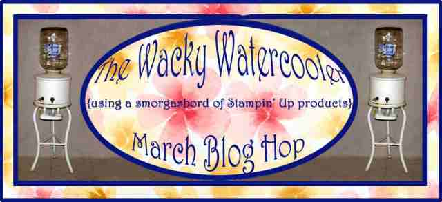 Watercooler, blog hop, Stampin' Up!