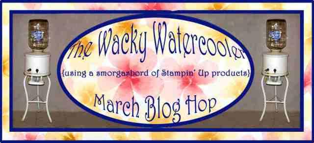 Watercooler, blog hop, Stampin' Up!