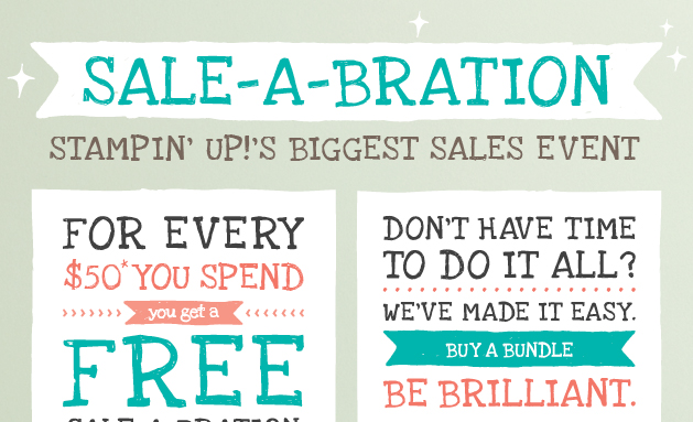 Sale-a-bration, Stampin' Up!, Best of 25 Years