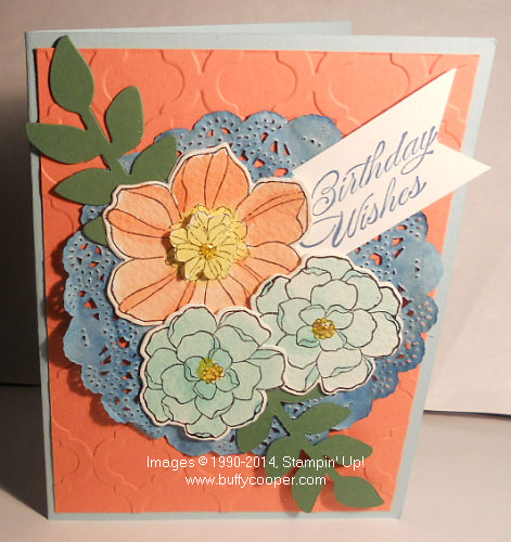 Secret Garden, Stampin' Up!