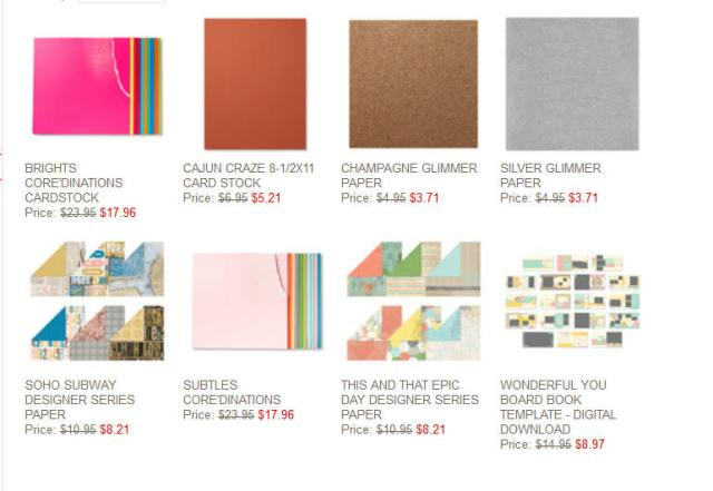 Weekly Deals - Stamping in Winchester, VA, with Buffy Cooper
