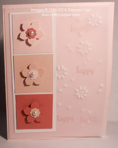 Stampin' Up!, Techniques, Embossing