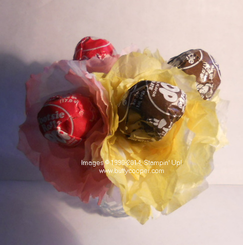 Tootsie pops, flowers, spring has sprung
