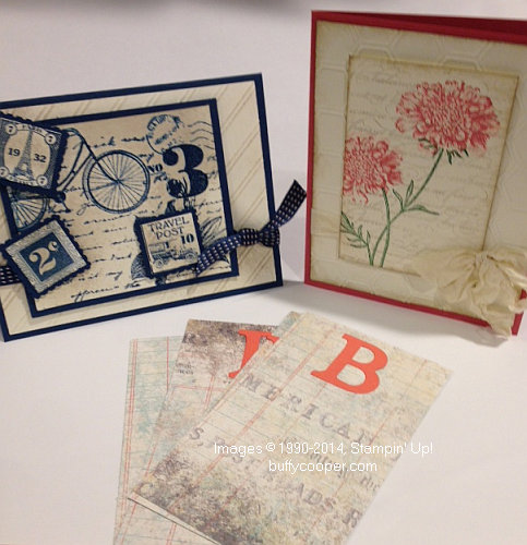 Stampin' Up!, Postage Due, Field Flowers