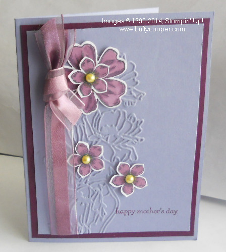 Stampin' Up!, Blendabilities, Petite Petals, Flower Shop