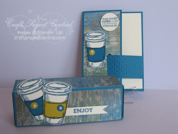 Craft Project Central, Stampin' Up!, K-Cup Holder