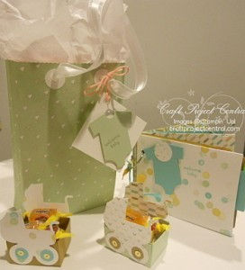 Baby Firsts, Something for Baby, Stampin' Up!, Craft Project Central