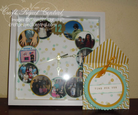 Scrapbooking, gifts, Craft Project Central, Stampin' Up!
