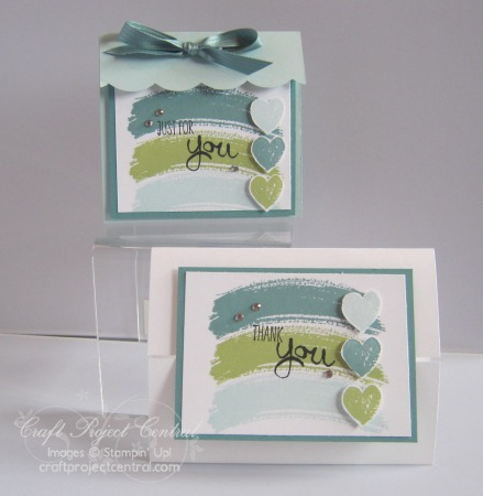 Work of Art, Stampin' Up!, Craft Project Central